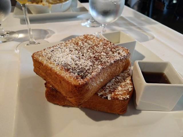 German French toast at Affäre