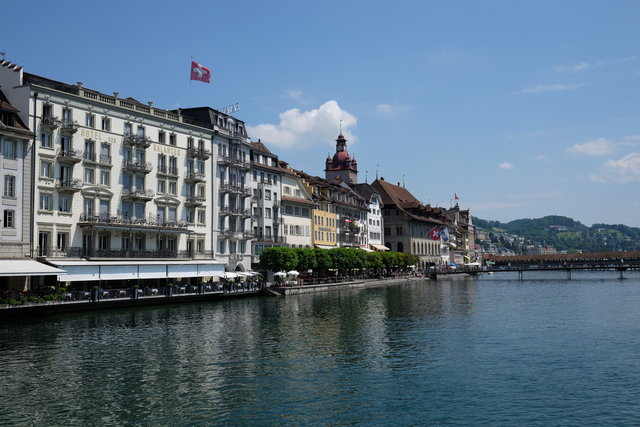 Historic old town Luzern