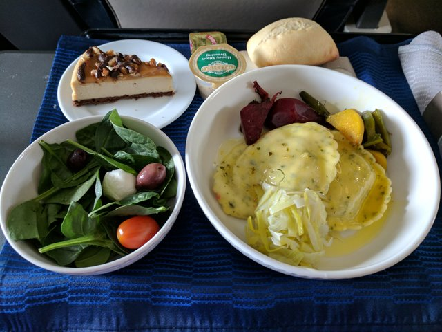 Ravioli in first on United