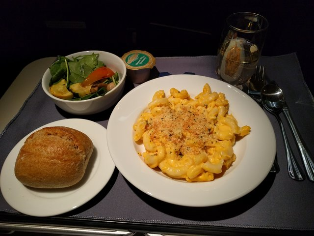 United First meal
