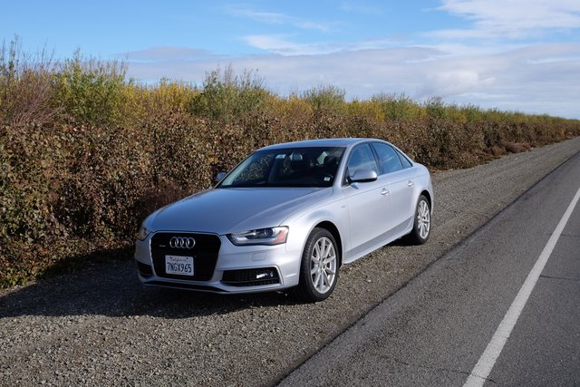 Audi A4 from Silvercar