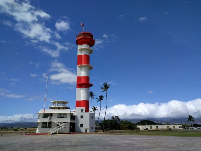 Control tower at Ford Island in Pearl Harbor, Hawaii