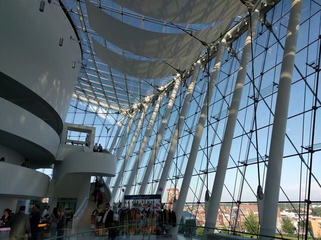 Inside the Kauffman Center