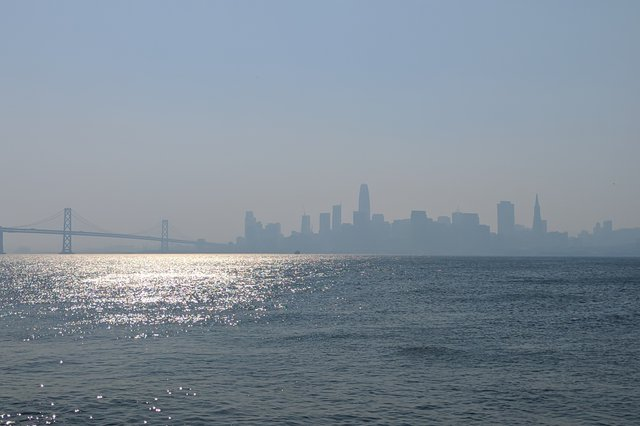 Poor air quality in San Francisco