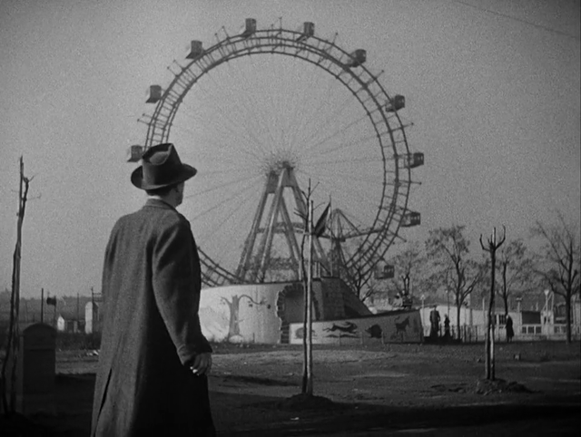Ferris wheel in _The Third Man_